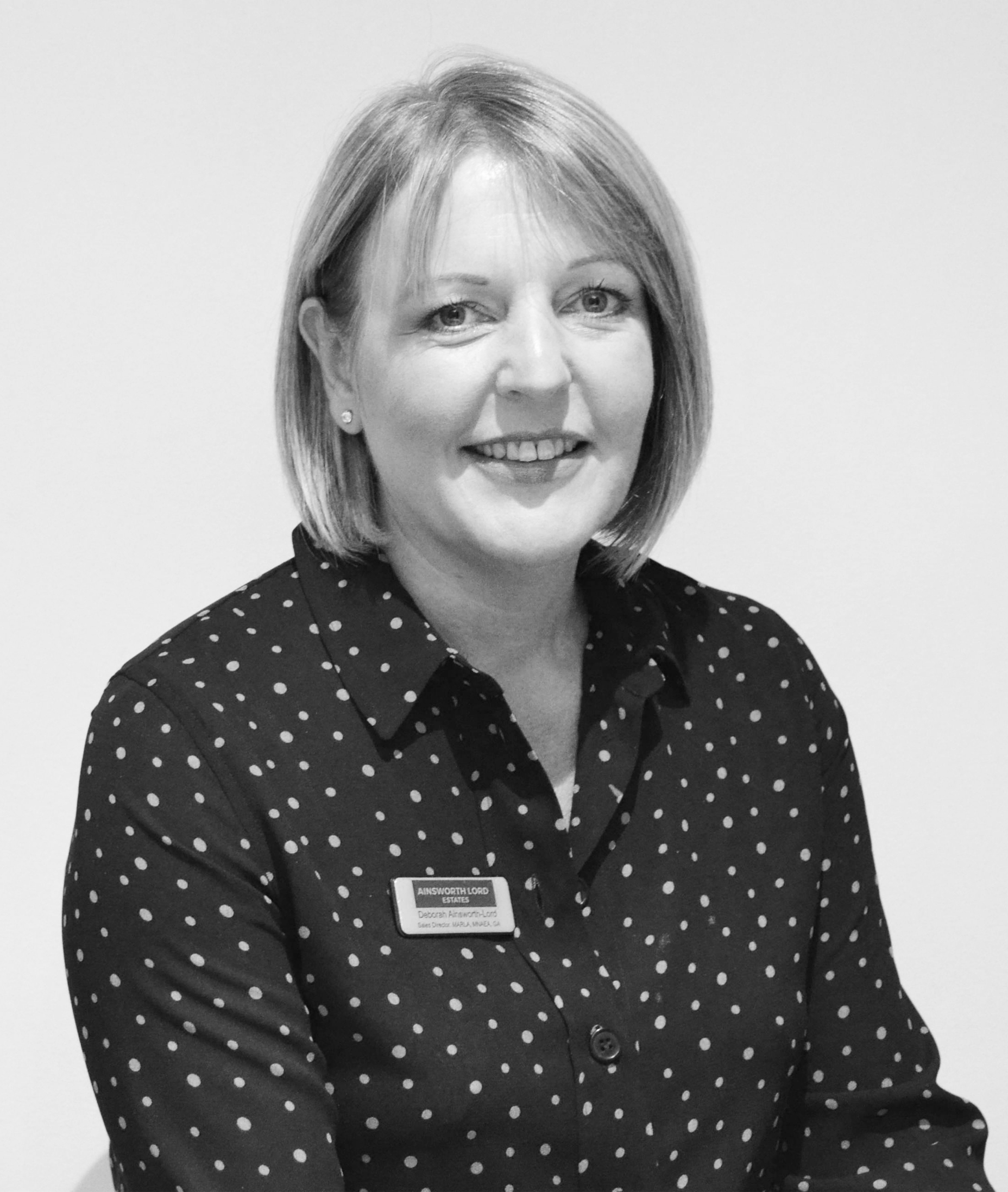 Deborah Ainsworth-Lord, Sales Director